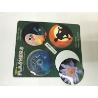 China Morph Effct 3D 0.45MM PP Lenticular custom 3d stickers With Offset Printing For Kids wholesale