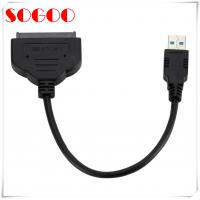 China USB 3.0 To SSD / 2.5 Inch SATA Cable Assembly For Hard Drive Adapter on sale