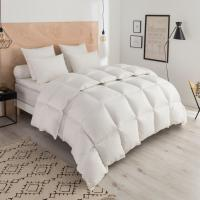 China 85% Goose Feather And 15% Goose Down Hotel Collection King Duvet Embroidered Logo wholesale