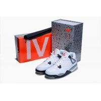 China Air Jordan 4 Shoes white red gry black wholesale