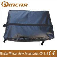 Quality 1000D Dacron Mesh PVC waterproof Roof Top Cargo Bag Fireproof Antifreezing for sale