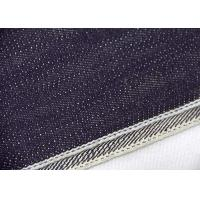 China 18.6oz Japanese Selvedge Denim Fabric For Jeans W92239A With Customized Color wholesale