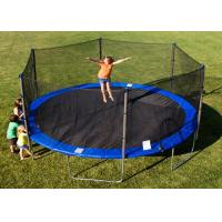 China Multi Color 12FT Big Jump Trampoline EPE Foam Spring Cover Frame Replacement wholesale