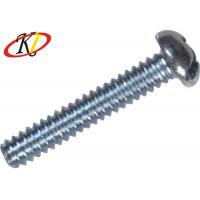 Buy cheap Plain Finish Steel Machine Screws Stainless Phillips Drive With Pan Head from wholesalers