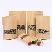 China Ziplock Customized Paper Bags Kraft Paper Loose Leaf Tea Packaging For Gree / Black Tea wholesale