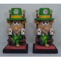 China Casting Epoxy Resin Crafts Cartoon Bobble Head Decorative Statues for Home wholesale