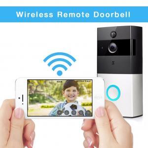 Buy cheap Wireless Battery Powered Smart Video Doorbell Low Power Consumption 720P WiFi Video Door Phone from wholesalers