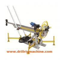 China Hydraulic Man Portable Drilling Rig Machine With 400nm Rotary Torque Long Stroke Cylinder wholesale