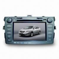 China 7-inch In-dash Double Din Car DVD Player with iPod Interface and High-definition Display on sale