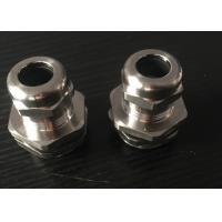 China G Type Thread Metal Waterproof Cable Gland / Pg Cable Glands Heat Insulation wholesale