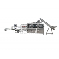 China 1500BPH Mineral Water Bottling Machine With Coder Printer on sale