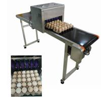 China Easy Operation Egg Industrial Inkjet Coding Printer With Convenient Moving wholesale