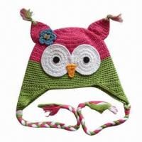 Buy cheap Animal Knitted Hat for Children, OEM Orders are Welcome from wholesalers