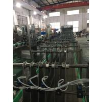 China 20kw Glass / PET Bottle Shrink Packing Machine With Touch Screen PLC Control System wholesale