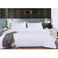China Comfortable Hotel Collection Duvet Set Single Or Double Size 60S 200 ~ 220GSM wholesale