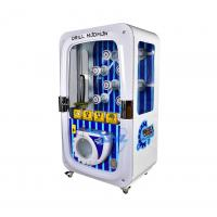 China Single Player Toys Claw Machine , Coin Operated Crane Vending Machine wholesale
