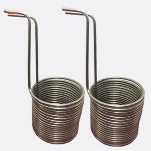 China Titanium Tube Aquarium Evaporator Coil Type Heat Exchanger wholesale
