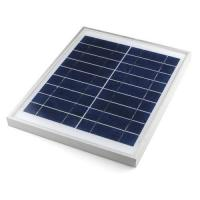Buy cheap Led Garden Lights Silicon Solar Panels Polycrystalline 185 X 185 X 17mm from wholesalers