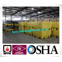China SYSBEL PE Spill Containments For Oil Tank, 4 Drum PE Spill Pallet And Spill Deck wholesale