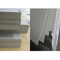 China 1550gsm / 2.55mm laminated grey Strawboard Paper for hard book cover wholesale