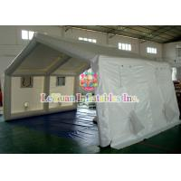 China Plato PVC Inflatable Clear Bubble Tent For Shelter ,  Commercial Clear Dome Tent wholesale