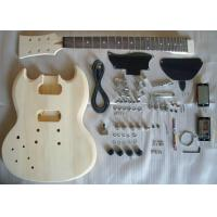 China Basswood SG Style DIY Electric Guitar Kits Semi - finished Electric Guitar AG-SG1 wholesale