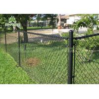China Residential 6ft Chain Link Panels / Security Fencing Mesh With φ60 Post on sale