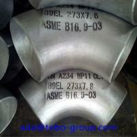 China Stainless Steel Pipe Butt Weld Fittings Long Radius 90 Degree Elbow wholesale