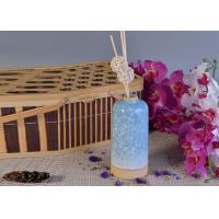 China Glazed Aroma Empty Diffuser Bottles And Reeds 580ml Ceramic Candle Holder wholesale