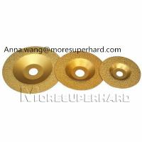Buy cheap Vacuum Brazed Diamond Grinding Wheel,vacuum brazed granite edge for stone from wholesalers