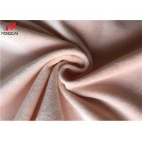 Quality Non - Stretch Polyester Minky Plush Fabric Super Soft Velboa Toy Fabric for sale