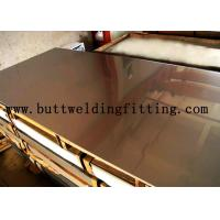 China Hot / Cold Dipped Stainless Steel Plate 1000mm Wide With Alloy N04400 / 400 N00625 / 625 wholesale