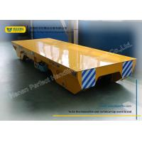 China Handling system for Manufacturing Industry Rail Transfer Cart , yellow wholesale