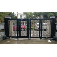 China Motorized Automatic Villa Swing Gate With Long Range Remote Control wholesale