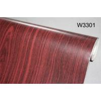 China Eco - Friendly 3D Non - Pasted Living Room Wallpaper Wooden Style Wallpaper wholesale