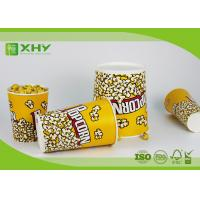 Buy cheap 24oz to 170oz Paper Popcorn Buckets 100% food grade , disposable paper popcorn cup and bucket from wholesalers