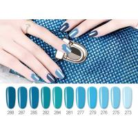China 12ml 15ml UV LED Gel Nail Polish Bright Color Full Nature Resin Material on sale