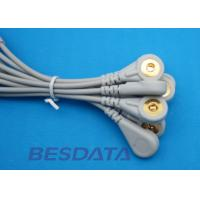 Quality 10 Leads EKG Cable Electrodes Adaptor Din 3.0 / Banana 4.0 Plug Conver To Snap for sale