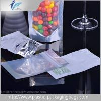 China Custom Logo Waterproof Plastic Ziplock Bags / Moisture Proof Stand Up Pouch Packaging on sale