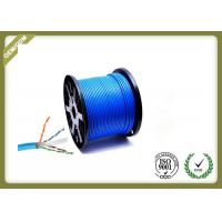 China Cat6 STP 23AWG Network Fiber Optic Lan Cable , Optical Ethernet Cable Pure Copper wholesale