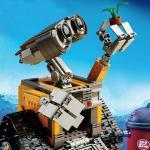 China 2016 Lepin 16003 Idea Robot WALL E Building Blocks Minifigures Bricks Blocks Toys for Children WALL-E Birthday Gifts wholesale