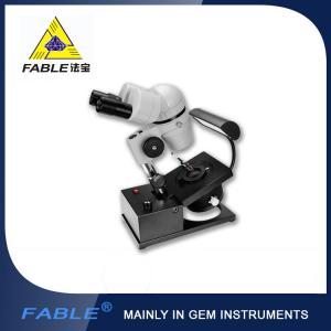 China Mature optical design Generation 1st  Swing arm type Gem Microscope With F13 binocular lens wholesale