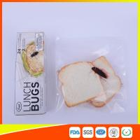 China Ziplock Airtight Plastic Sandwich Bags Transparent Eco Friendly Custom Printed wholesale