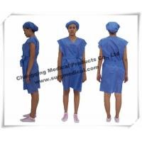 China Disposable Surgical Gowns Non - woven Hospital Nursing Uniform Patient Protection wholesale