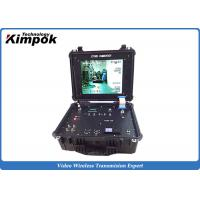 China Vehicle Mounted Ground Station COFDM Video Link Receiver RS232/RS485 4CH Surveillance Rx on sale