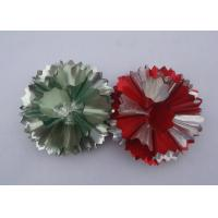 """Quality 4"""" PET fancy ribbon bow for Christmas Holiday decoration and promotion for sale"""