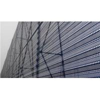 Sound Barrier Stainless Steel Perforated Mesh , Perforated Plate Screen