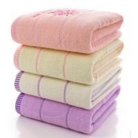 China Comfortable Plain Weave Soft Face Towels Decorative With Digital Printing wholesale