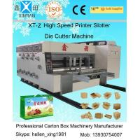 China 1200x2300mm Printing Size Die Cutter Machine Steel Temper Dynamic Balance wholesale