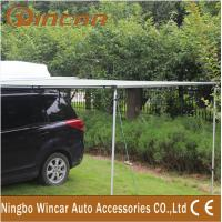 China 280G Canvas Green / Sand Rolling Up Car Awning Tent , OEM / ODM wholesale